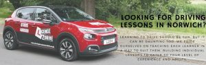 Home page image driving lessons