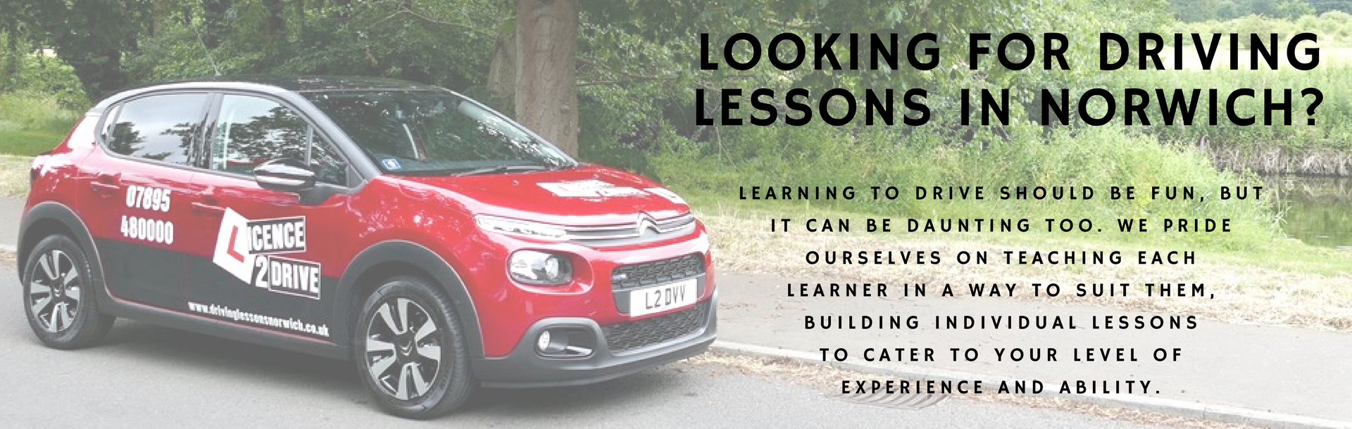 Driving lessons norwich header