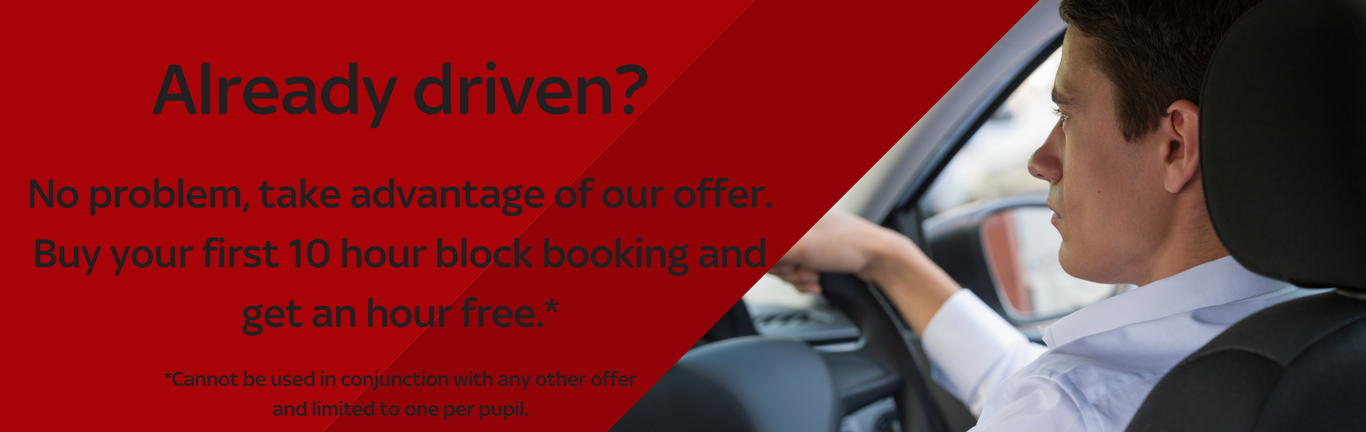 existing driver offer