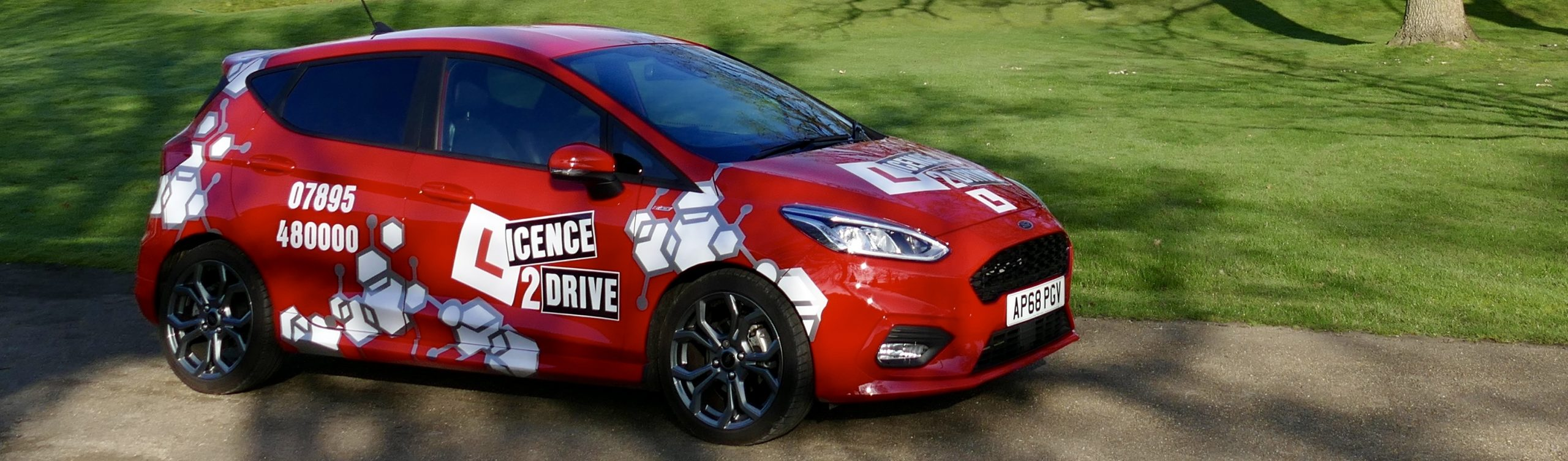 Licence2Drive car at Sprowston Mannor